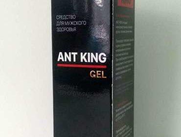 Лицевая сторона упаковки крема Ant King.